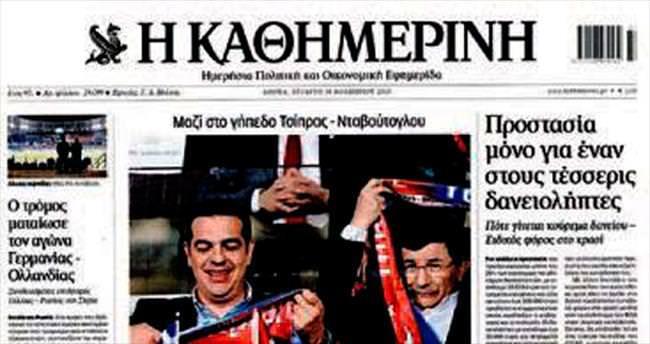 Yunanistan'da Türkiye övgüsü