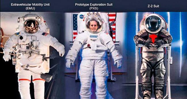 Mars kıyafetleri görücüye çıktı