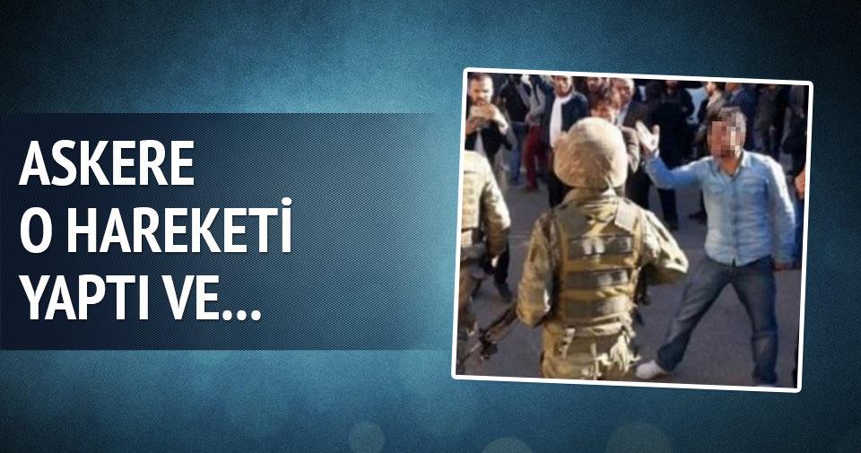 Askere küfür iddiasıyla 6 kişi gözaltında