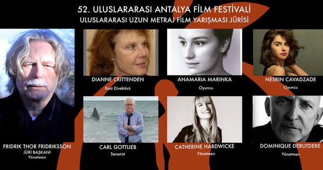 52. Uluslararası Antalya Film Festivali Uluslararası Yarışma Jürisi Belli Oldu