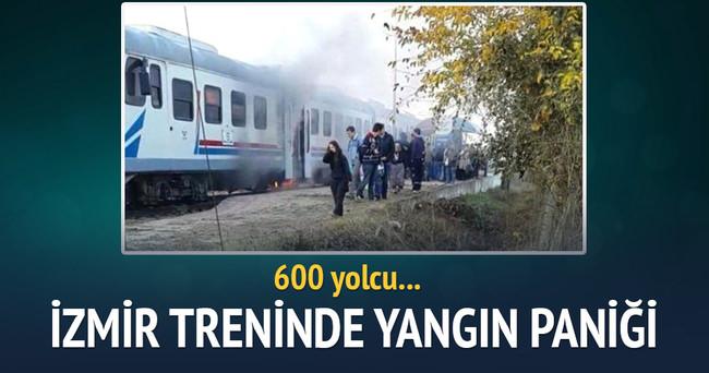 Yolcu treninde yangın paniği