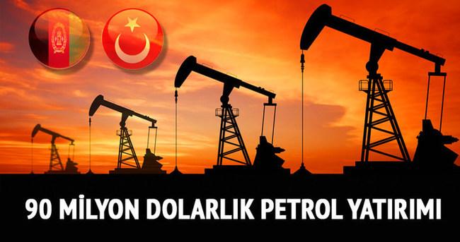 Türk konsorsiyumdan Afganistan'a 90 milyon dolarlık petrol yatırımı