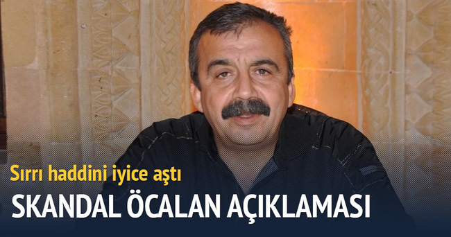 Sırrı Süreyya'dan skandal Öcalan açıklaması