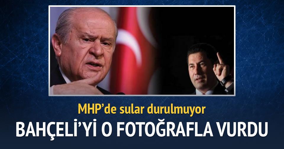 Sinan Oğan Bahçeli'yi o fotoğrafla vurdu
