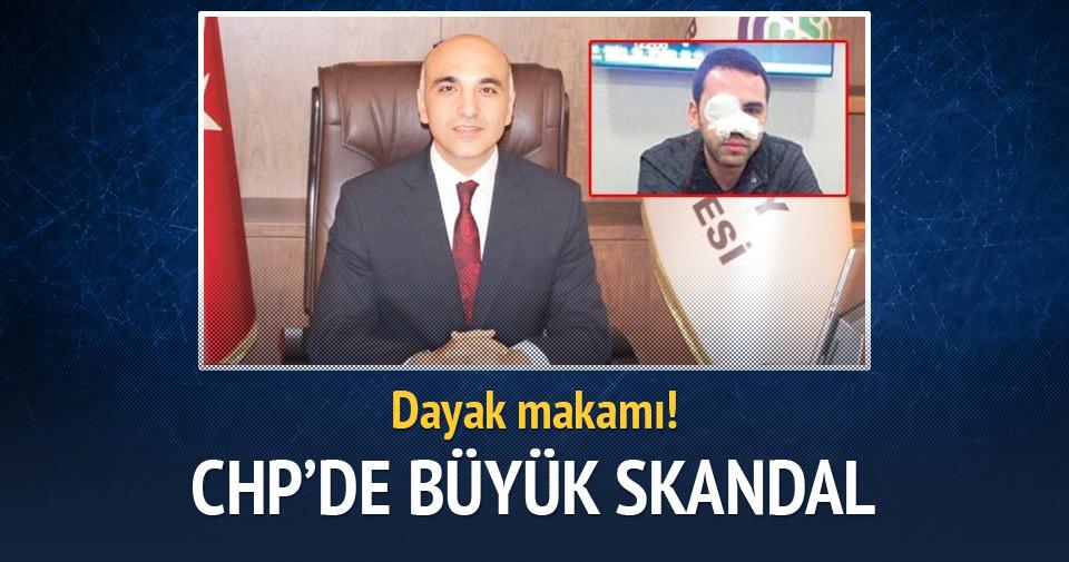 Bakırköy Belediye Başkanı'ndan çaycıya dayak