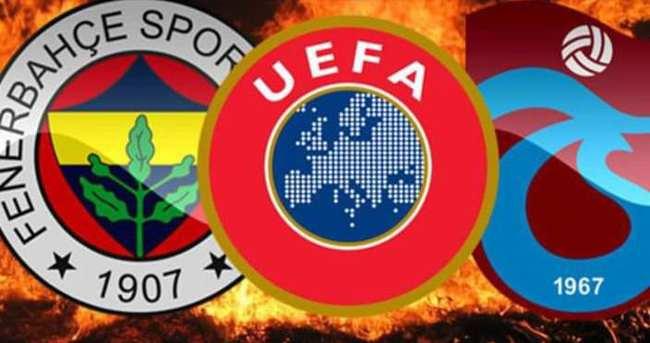 UEFA, Fenerbahçe ve Trabzonspor'u çağırdı