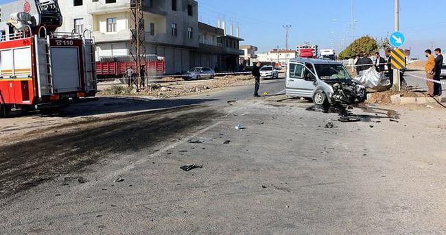 Şanlıurfa'da kaza: Ölü ve yaralılar var