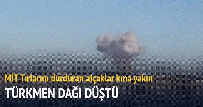 Türkmen Dağı düştü