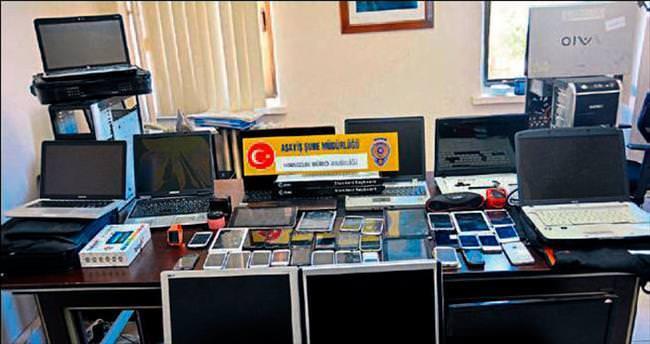 Mersin'de işyeri hırsızları yakalandı