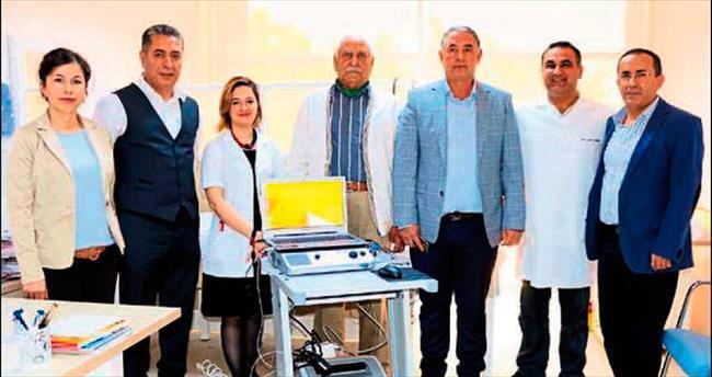 Devlet hastanesine EMG cihazı