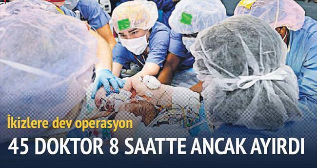 45 doktor, 8 saat, dev operasyon