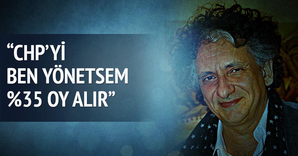Bedri Baykam: CHP'ye yüzde 35 aldırırım