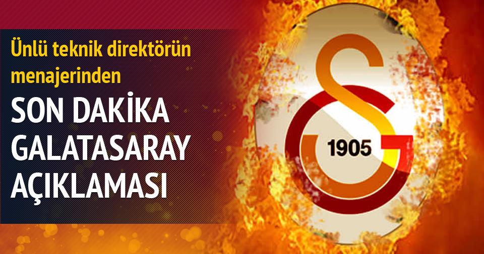 Lucien Favre'nin menajerinden Galatasaray açıklaması