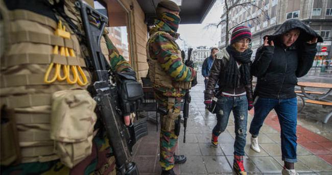 Brüksel'de güvenlik tedbirleri arttırıldı