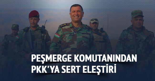 Peşmerge komutanından PKK'ya sert eleştiri