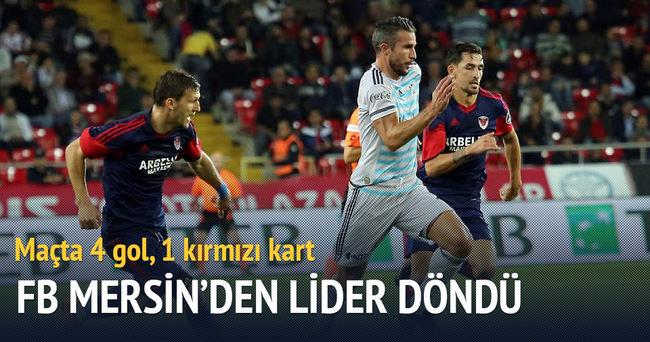 Fenerbahçe Mersin sınavını kolay geçti