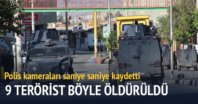Şırnak'ta 9 terörist öldürüldü