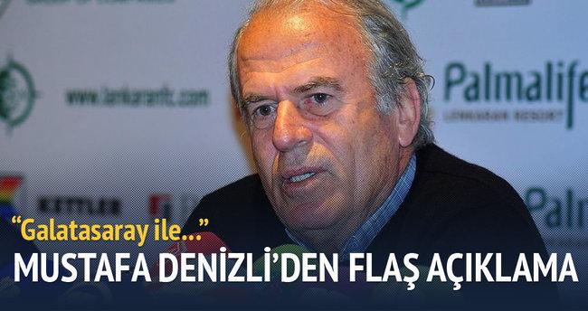 Mustafa Denizli'den flaş açıklama