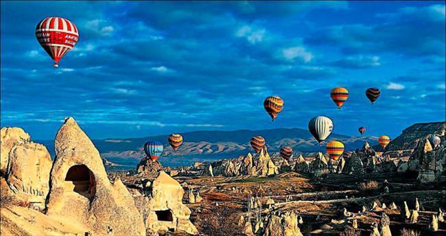48 saatte Kapadokya