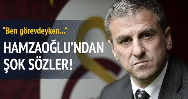 Hamza Hamzaoğlu'ndan şok sözler