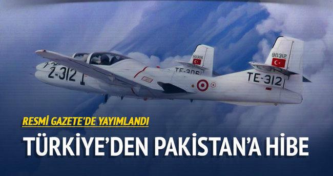Türkiye, Pakistan'a T-37 B/C uçakları ve destek teçhizatı hibe edecek