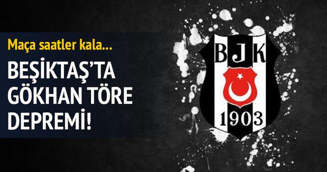 Beşiktaş'ta Gökhan Töre şoku!