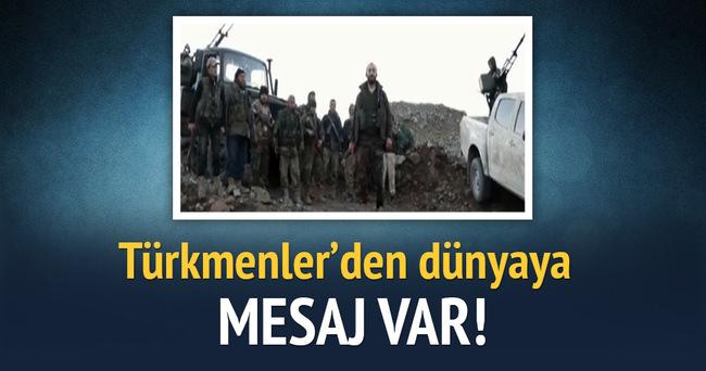 Türkmenler'den dünyaya mesaj: 'Haddinizi bilin'
