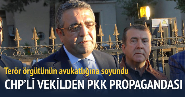 CHP'li vekil PKK'nın avukatlığına soyundu