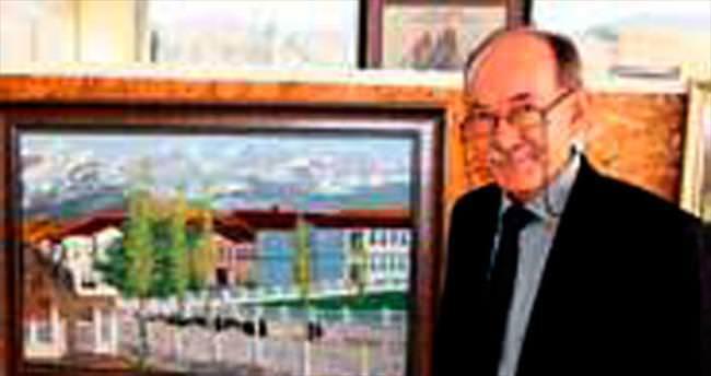 Amatör ressamın 2'nci kişisel sergisi