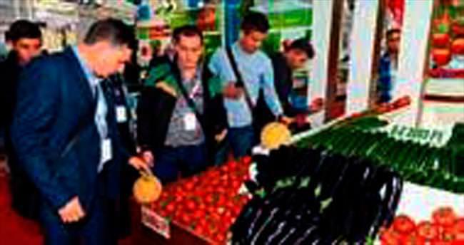 Yabancı çiftçiler DOMATEXPO'da