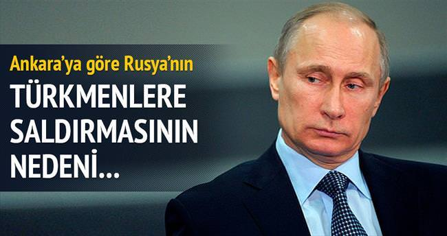 Rusya'nın hedefi PYD'yi rahatlatmak
