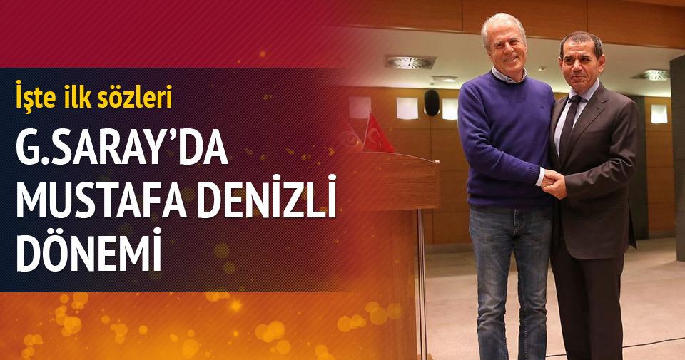 Galatasaray'da Mustafa Denizli dönemi
