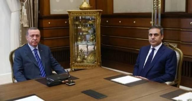 Cumhurbaşkanı Erdoğan, Kahraman'ı kabul etti