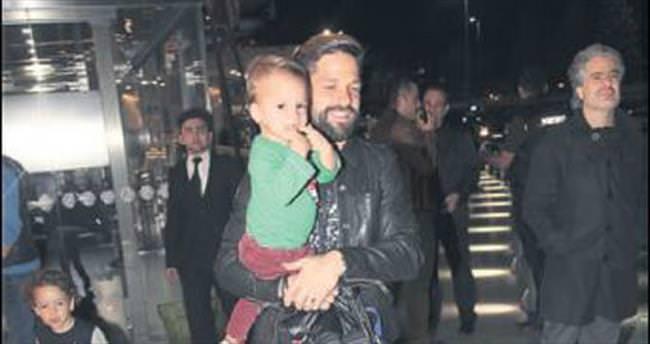 Ribas, çocuğu ile çok mutlu