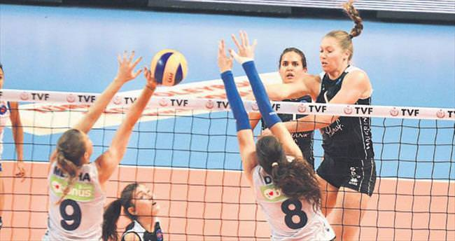 Halkbank 3-1 mağlup