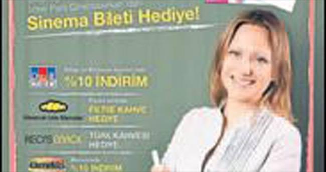 İzmir Park'tan öğretmene sinema bileti