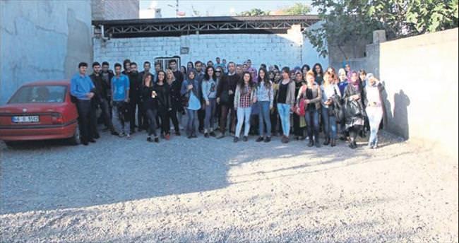 GSF öğrencilerinin Germenicia gezisi