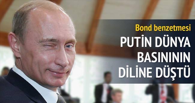 Putin'e Bond benzetmesi