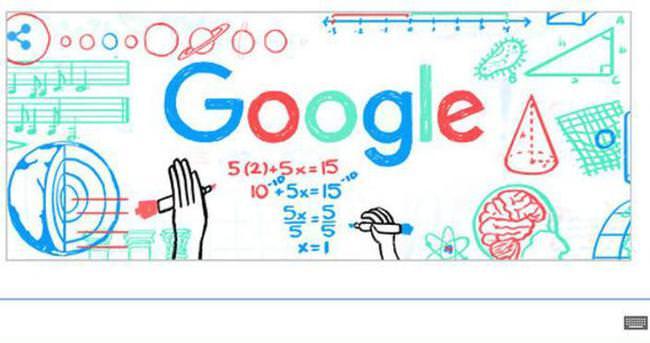 Öğretmenler günü Doodle oldu!