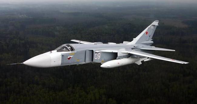 İşte Türkiye'nin düşürdüğü Rus uçağı
