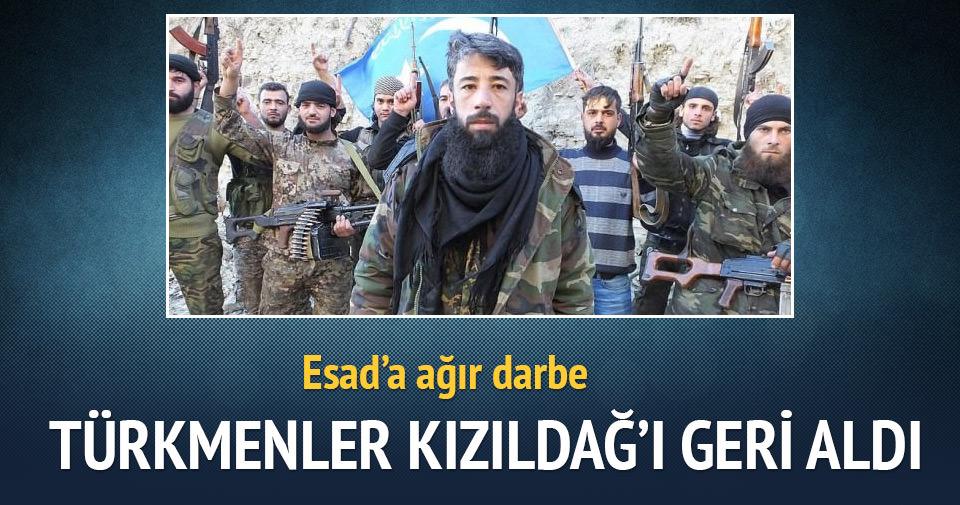 Türkmenler Kızıldağ'ı geri aldı