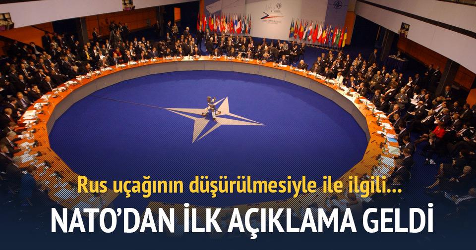NATO'dan ilk açıklama geldi