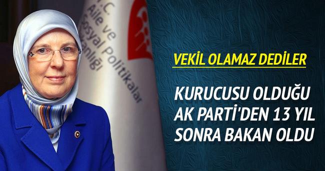 Sema Ramazanoğlu Aile ve Sosyal Politikalar Bakanı oldu