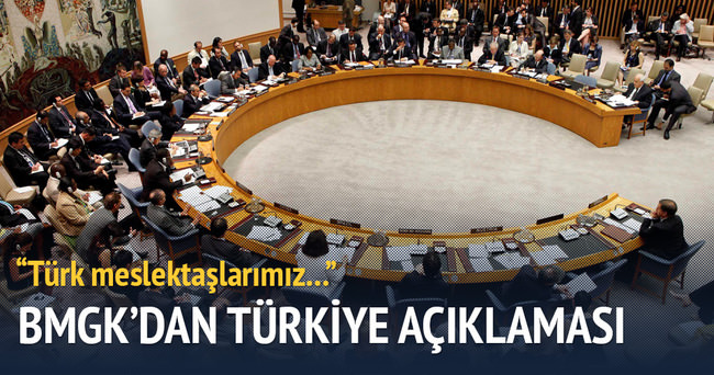 BMGK'dan flaş Türkiye açıklaması