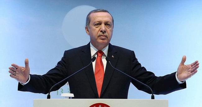 Erdoğan: 'Türkiye'nin kendini koruma hakkına herkes saygı göstermeli'