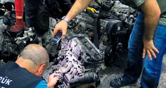 Gümrük kaçağı 35 motora el konuldu