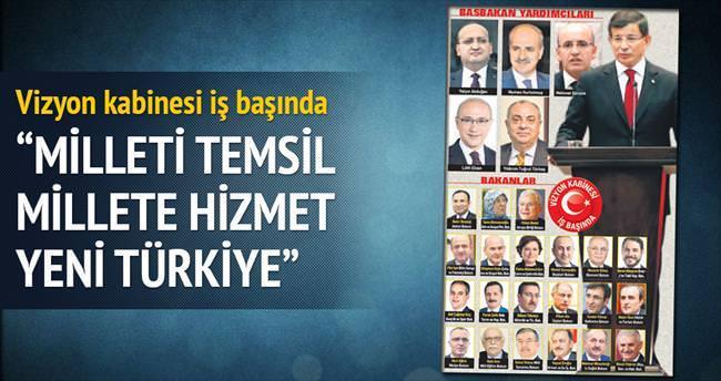 İşte yeni Türkiye kabinesi