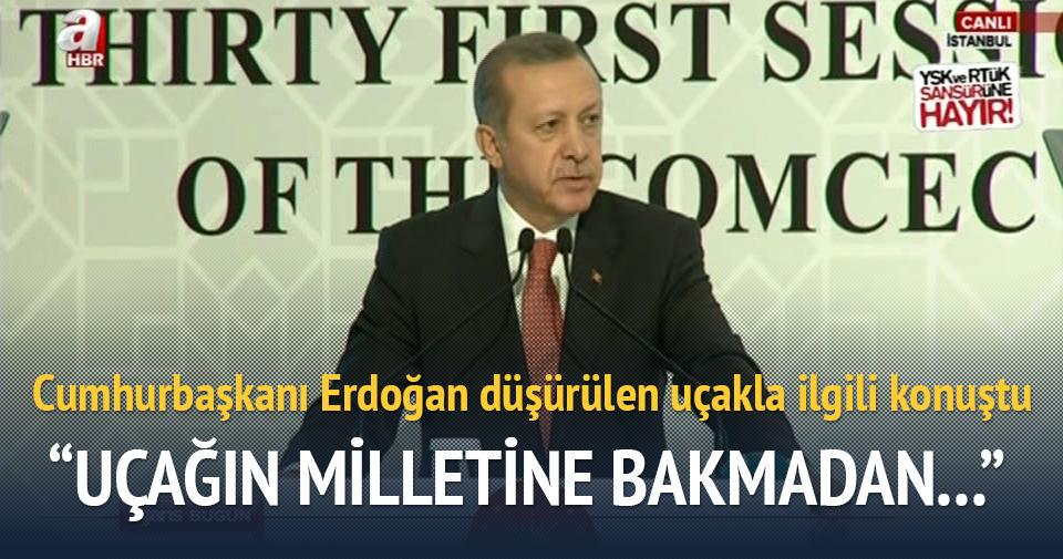 Erdoğan: Kimse kimseyi aldatmasın