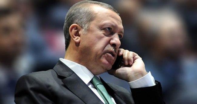 Erdoğan Hollande ile telefonda görüştü