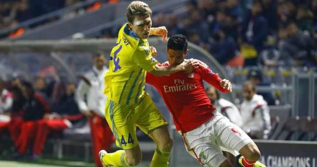 Astana Benfica'yı elinden kaçırdı